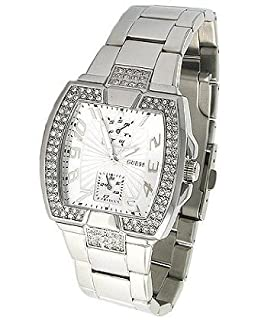 GUESS Stainless Steel Bracelet Watch U12556L1 (B001PT9QZK) | Amazon price tracker / tracking, Amazon price history charts, Amazon price watches, Amazon price drop alerts