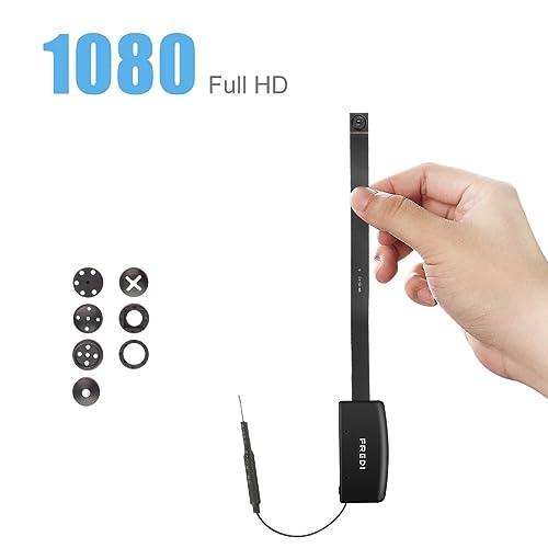 FREDI HD 1080P mini telecamera videocamera wifi nascosta spia fotografica con movimento investigativo di sorveglianza sicurezza domestica sostegno per IOS iPhone Android Phone APP e 128GB scheda sd(non includere)