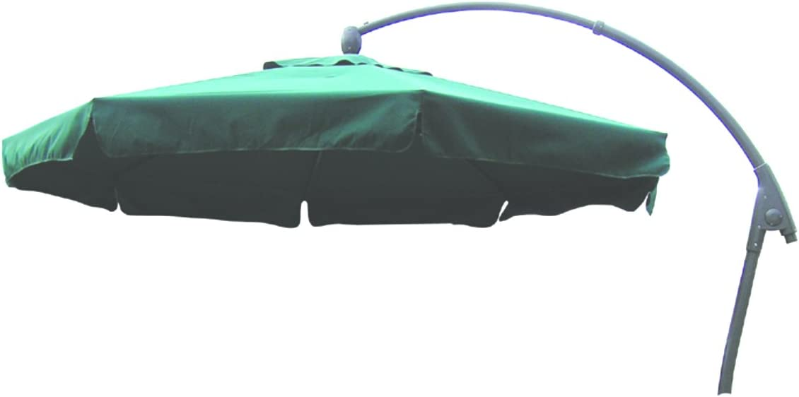 Bosmere D596 STORM BLACK Giant Parasol Cover with Zip