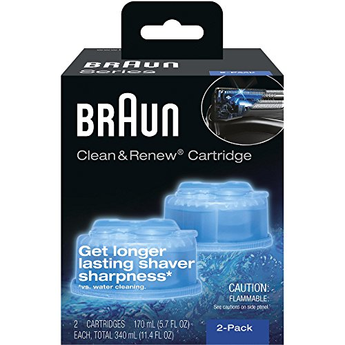 Braun Syncro Shaver System Clean & Renew Refills