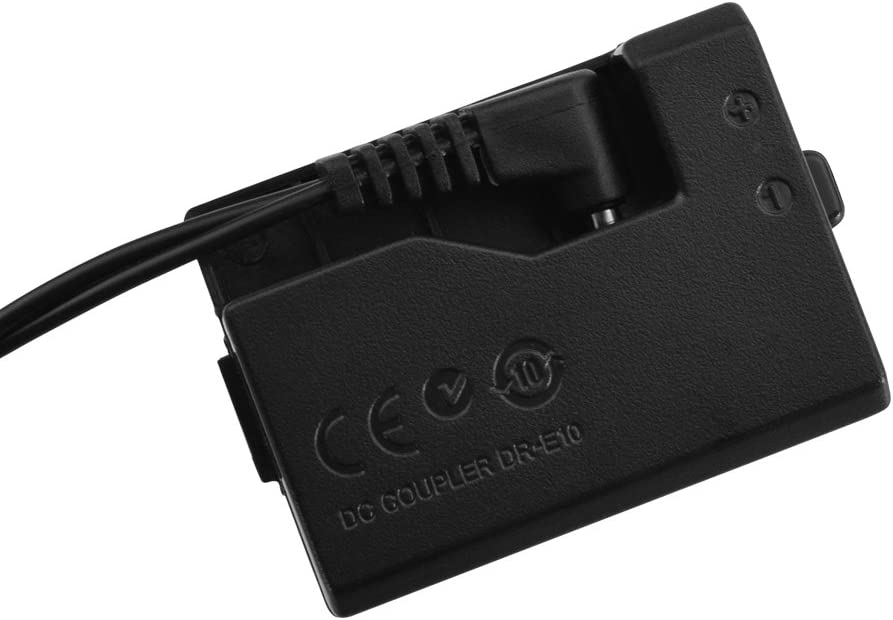 PowEver ACK-E10 AC Power Adapter//Charger Kit For Canon EOS 1100D 1200D Rebel T3 and T5 Cameras
