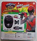 Nice Toy Tokumei Sentai Go-busters : Red Buster Mask & Belt Playset