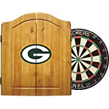 Green Bay Packers NFL Dart Cabinet and Dartboard Set by Imperial International