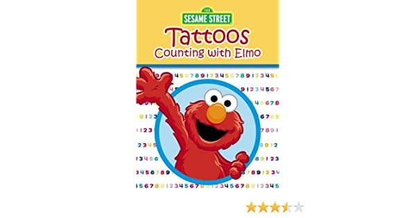 Amscam Sesame Street Tattoos Multicolor