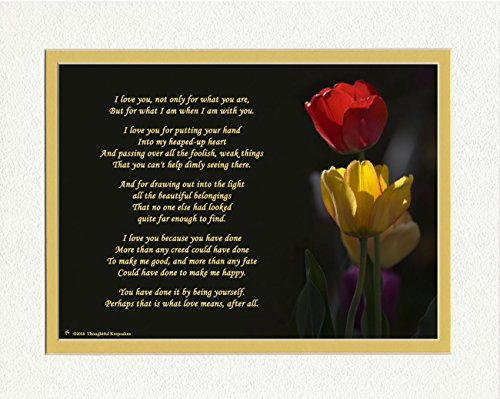 Gift for Wife or Girlfriend. Tulips Photo with