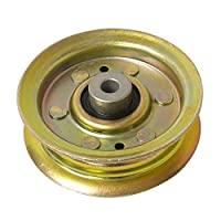 Original Craftsman, Poulan, Husqvarna Flat Idler Pulley Part Number 173438, 131494.