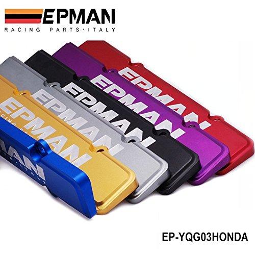 Acura Dohc Vtec B Series B16 B18 Grey EPMAN Racing Billet Engine Spark Plug Cover For Honda
