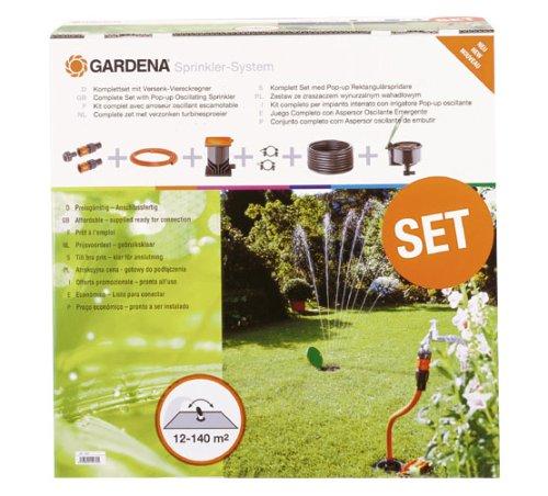 Gardena - Kit completo per impianto interrato 641507