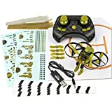 Rage RC 4502 Jetpack Commander Ready to Fly RC Quadcopter, Camo Green