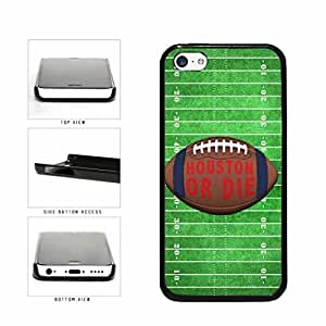 Houston or Die Football Field Plastic Phone Case Back Cover Apple iPhone 5c