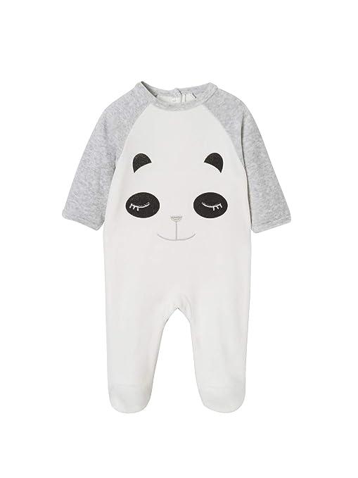 91d2e5fbb0 VERTBAUDET Pijama de terciopelo para bebé