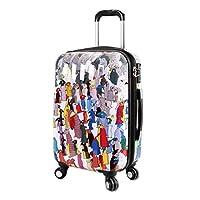 J World New York Art Polycarbonate Carry-on Luggage