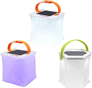 LuminAID Backyard & Outdoor Lighting Bundle – Decorative Solar Powered Outdoor Lanterns | Great for Backyard, Pool, Patio, and Garden Lighting