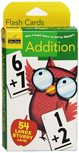 Golden Books Step Ahead Flash Cards: Addition (54 Large Sturdy Cards)