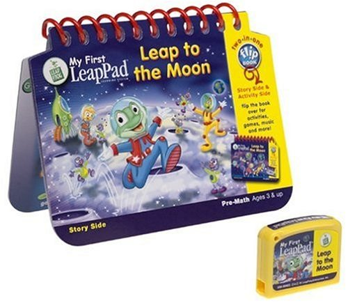 My First LeapPad Book: Leap to The Moon (First Cartridges My Leappad)