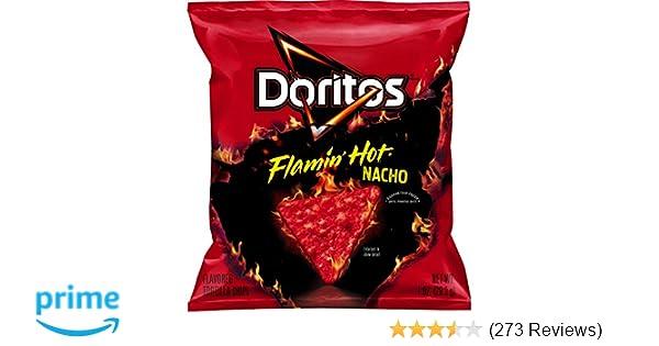 Doritos Flamin Hot Nacho Flavored Tortilla Chips 40 Ct
