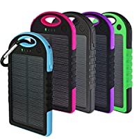 Solar Charger, Powercam, 10,000 mAh, Wat...