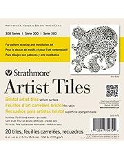 Strathmore 300 Series Bristol Artist Tiles, Vellum