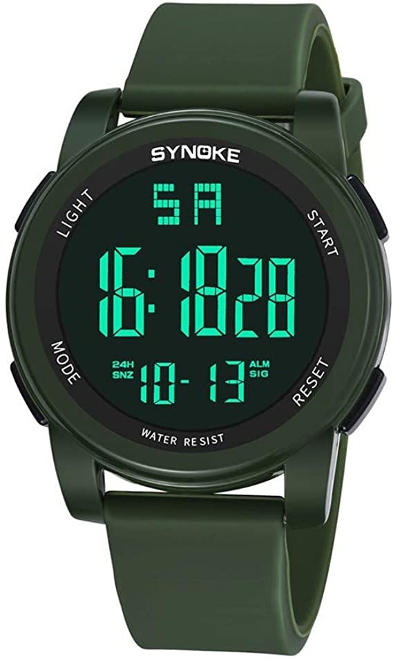 OPAKY Reloj Digital Deportivo con Movimiento Dual LED Reloj ...