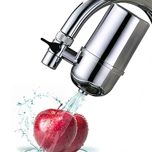 MANCEL Home Kitchen Faucet Water Filter System, Chrome Finish (Filtered Drinking Water Faucet compare prices)