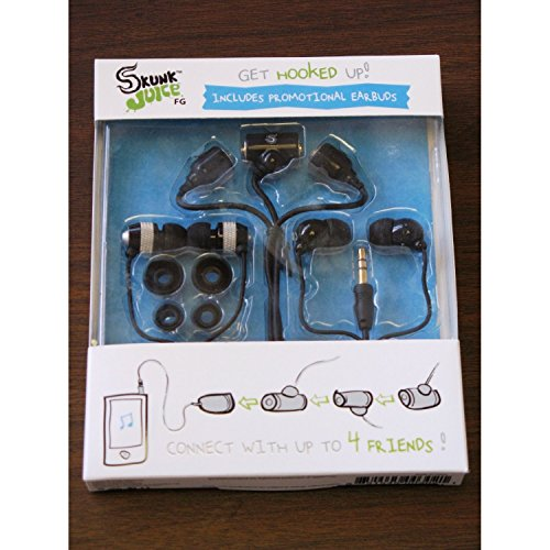 Skunk Juice FG Earbuds Black product image