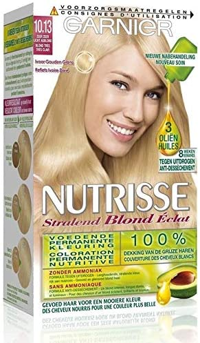 Garnier – Coloración – Nutrisse crema – 10.13 Rubio Muy Claro ...