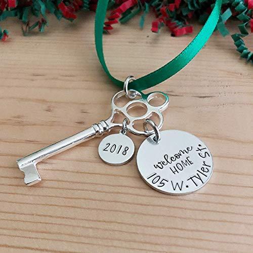 New Home Christmas Ornament Housewarming Gift (Estate Dangles)