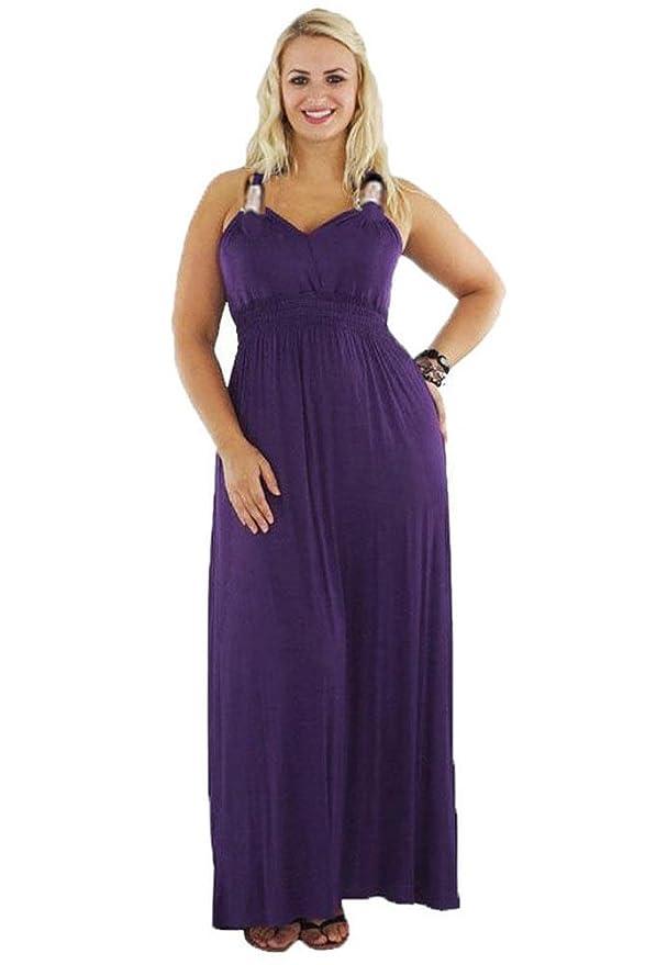 Fashionable Grecian Style Maxi Dress, Cocktail Dress at Amazon ...