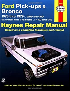 1978 ford truck shop manual ford motor company david e leblanc ford pick ups bronco automotive repair manual 1973 1979 fandeluxe