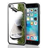 3 Iron Golf Club Hitting Golf Ball For Iphone 7 (2016) & Iphone 8 (2017) Case Cover By Atomic Market