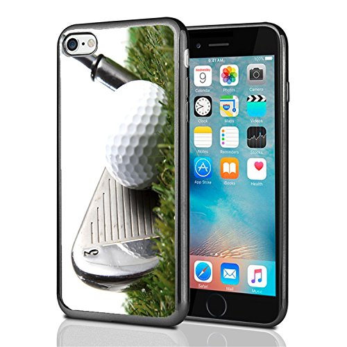 - 3 Iron Golf Club Hitting Golf Ball for iPhone 7 (2016) & iPhone 8 (2017) Case Cover by Atomic Market