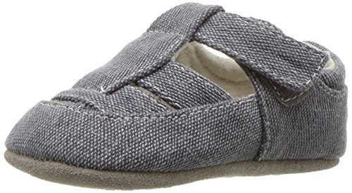 See Kai Run Boys' Jude Sandal, Gray Canvas, Medium/6-12 Months M US Infant