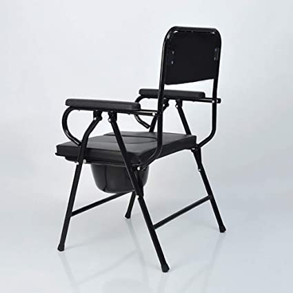 Commode Chair Yuehg Silla WC con Reposabrazos Mujeres ...