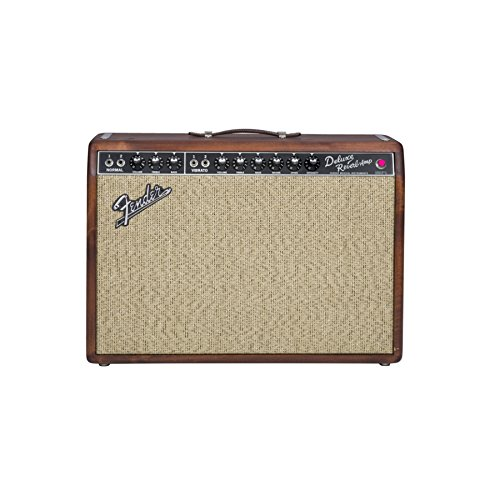 Fender-65-Deluxe-Reverb-Pine-Limited-Edition-Tube-Guitar-Amplifier