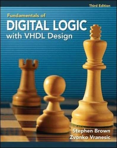 Fundamentals of Digital Logic with VHDL Design with CD-ROM by McGraw-Hill Education