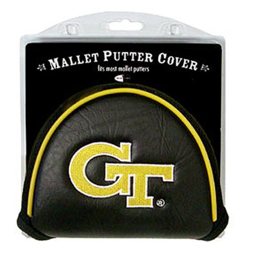 NCAA Georgia Tech Yellow Jackets Golf Mallet Putter Cover (Headcovers Tech Georgia)