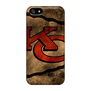 IanJoeyPatricia Iphone 5/5s Best Hard Phone Cases Unique Design High-definition Kansas City Chiefs Pattern [Vlc4927ibJK]