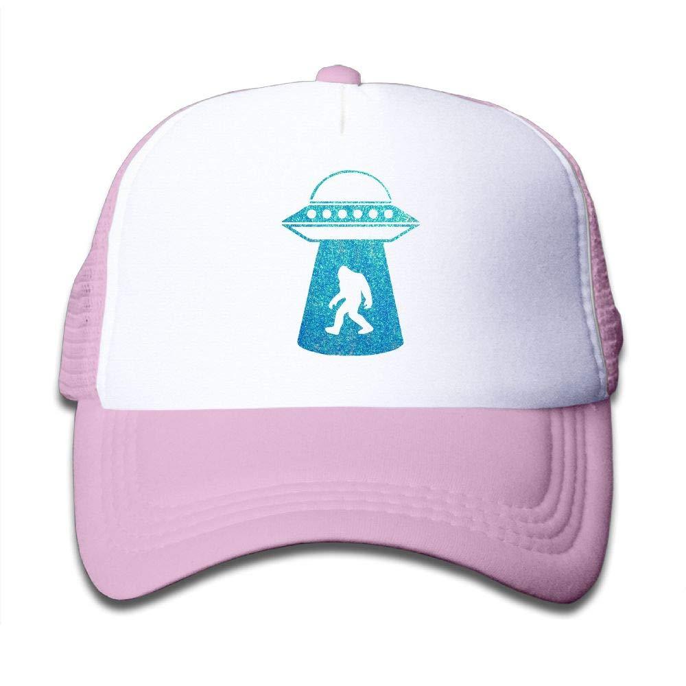 Clarissa Bertha Sasquatch Bigfoot Alien Kids Boys Girls Baseball Caps Mesh Hats