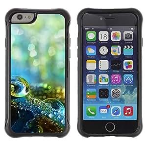 """Hypernova Defender Series TPU protection Cas Case Coque pour Apple Iphone 6 [Macro gota de agua""""]"""