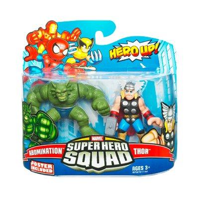 - Marvel Superhero Squad Series 17 Mini 3 Inch Figure 2Pack Thor & Abomination