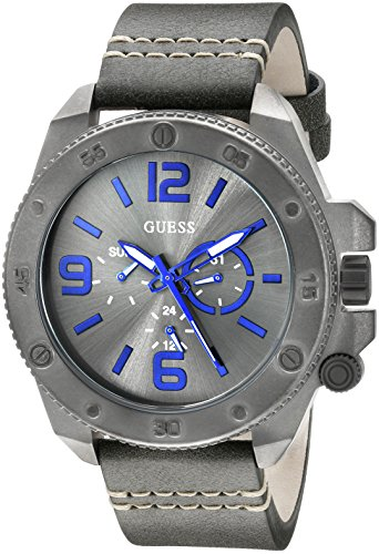 GUESS U0659G3 Fashionable Gunmetal Tone Stainless