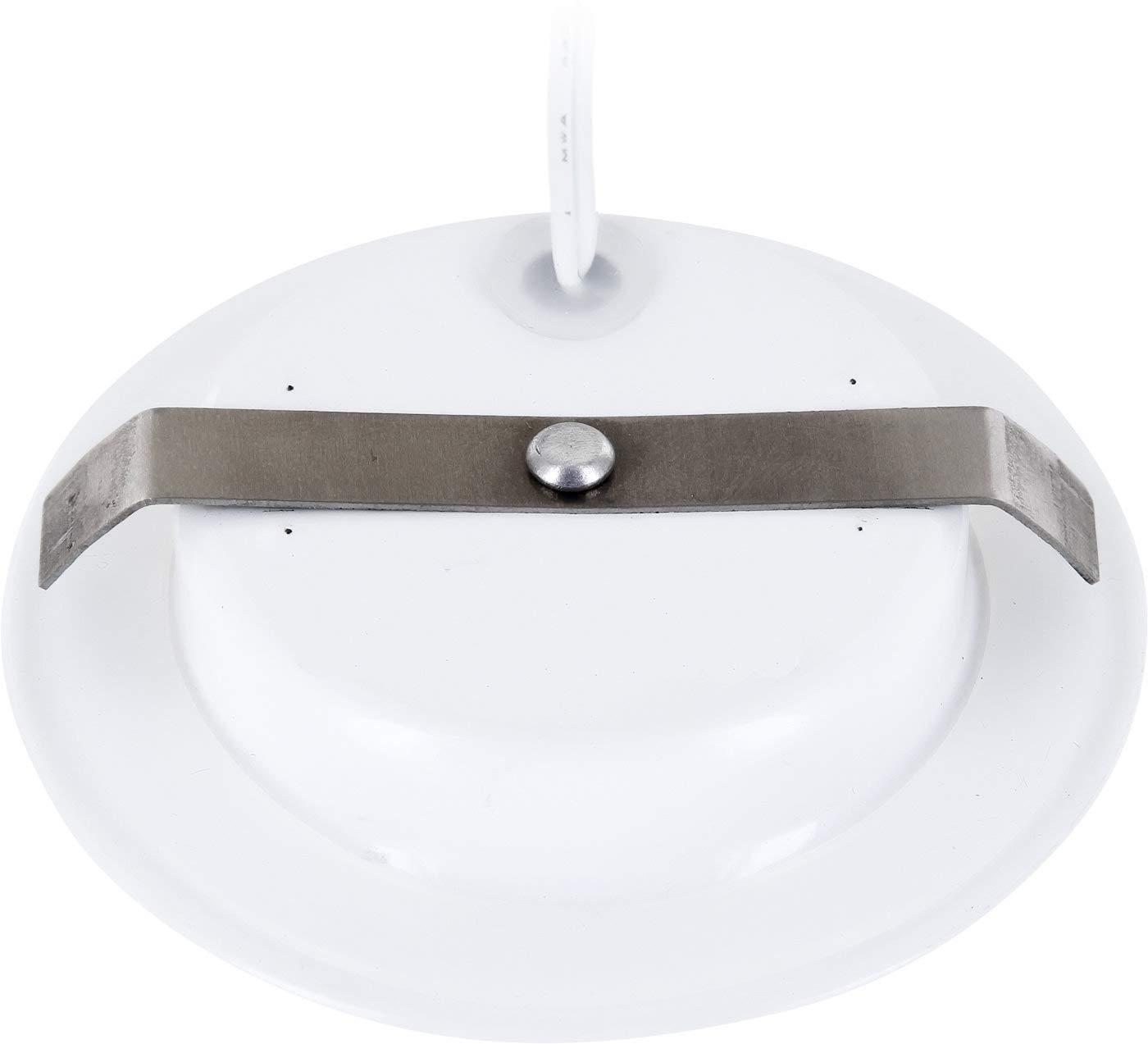 3000/K /Blanco C/álido LED Slim Muebles Foco Metal IP44/12/V/ /mate negro/ /compatible en rasante de /Ø 60/mm/