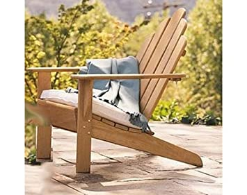 Grade A Teak Wood Adirondack Chair (Footrest Not Included) #WHAXACNF