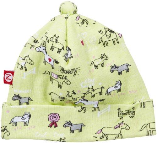 Zutano Baby-Girls Newborn My Pony Hat, Hay, New Born/Preemie