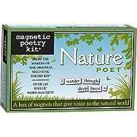 Poesía magnética - Nature Poet Kit - Palabras para refrigerador - Escribir poemas y letras en el refrigerador - Hecho en los Estados Unidos