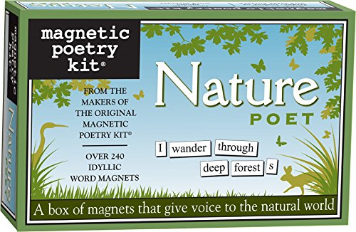 Magnetic Poetry - Nature Poet Kit - Words for Refrigerator - Write Poems and Letters on The Fridge - Made in The USA (Best Poets To Read)
