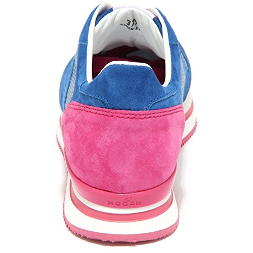 Sneaker Hogan Woman Donna Fucsia Scarpe H2220 9741M Bluette Bluette Shoes 16wdqq