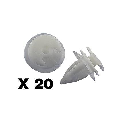 Tuqiang 20 X Clips/Plastic Screw molduras - Bandeaux – (51411973500) – Paneles