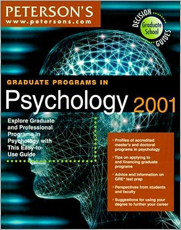 Read graduate schools in the us 2001 peterson s guides [pdf file(….