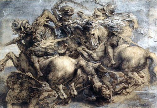 The Battle Of Anghiari Da Vinci - Leonardo Da Vinci The Battle of Anghiari - 18